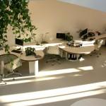 gietvloer moderne kantoorruimte
